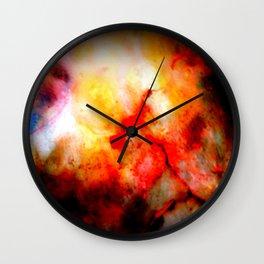 Bloodstones Wall Clock