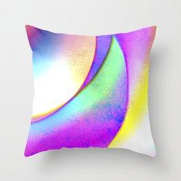 Orbital III Throw Pillow
