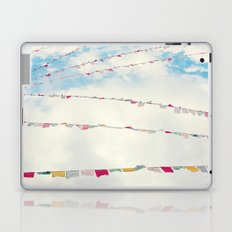 prayer flags no. 1 Laptop & iPad Skin