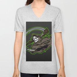 grim reaper ,grim reaper tattoos Unisex V-Neck
