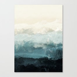 Coast Canvas Print