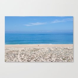 Praia do Norte Canvas Print