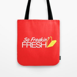 So Freakin' Fresh v1 HQvector Tote Bag