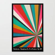 Beethoven - Symphony No. 9 - Original Version Canvas Print