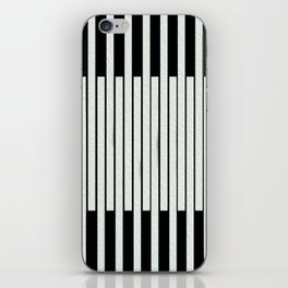 Black and white lines iPhone Skin