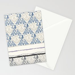 Indonesian batik print Stationery Cards