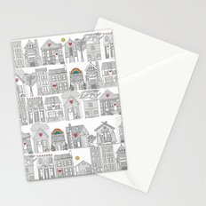 pencil weather love Stationery Cards