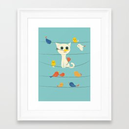 Birdwatching Framed Art Print