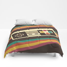 Retro Video Game 2 Comforters