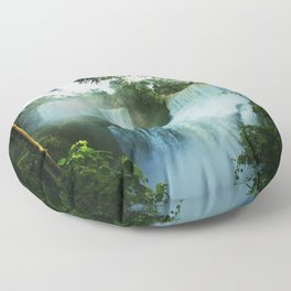 Wonderful Waterfall Floor Pillow