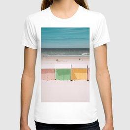 Beach Cabins North Sea T-shirt