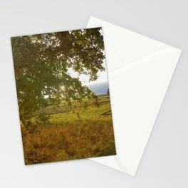 Autumn Countryside Landscape Sunset Stationery Cards