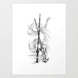 The Wands Art Print