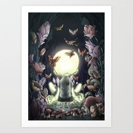 Lights Will Guide You Home Art Print