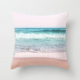 Pastel Ocean Dream #1 #wall #decor #art #society6 Throw Pillow