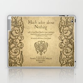 Shakespeare. Much adoe about nothing, 1600 Laptop & iPad Skin
