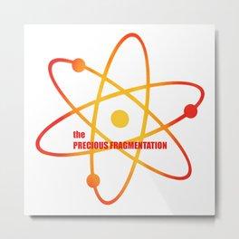 the Precious Fragmentation - Season 3 Episode 17 - the BB Theory - Sitcom TV Show Metal Print