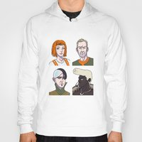 fifth element Hoodies featuring Fifth Element by enerjax