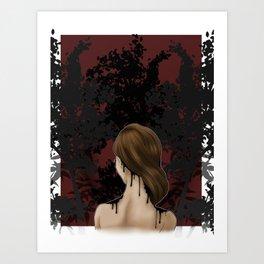 Last Ink Art Print