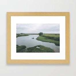 Fishing Mozambique Framed Art Print