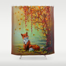 A Little Autumn Mood Shower Curtain