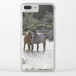 Cooling Off Clear iPhone Case