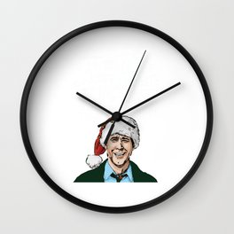 griswold christmas Wall Clock