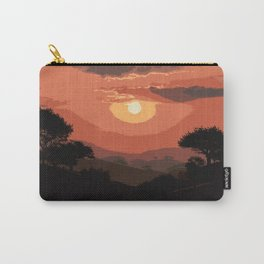 Valley of Sun Carry-All Pouch