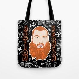 Action Bronson Portrait Tote Bag