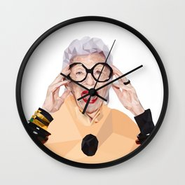 Lady with style Wall Clock