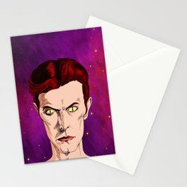 The Man Who Fell Stationery Cards