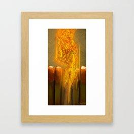 Red Head I Framed Art Print