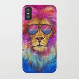The Bi Lion Pride iPhone Case