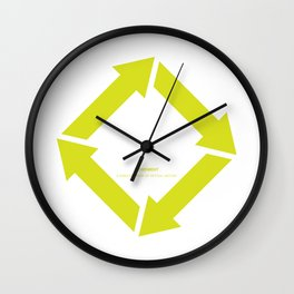 Design Principle FIVE - Movement Wall Clock