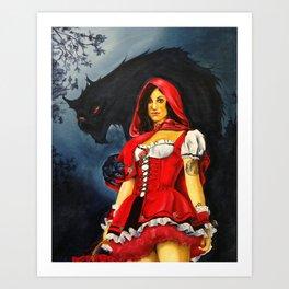 Caperucita. Art Print