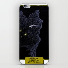 Ghost of Christmas Yet to Come iPhone & iPod Skin