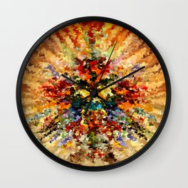 modern composition 10 by rafi talby Wall Clock