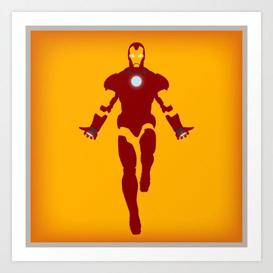 Mr. Stark (Iron Man) Art Print