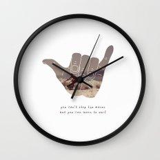 good vibrations Wall Clock