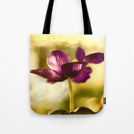 Glowing Purple Flower #decor #buyart #society6 Tote Bag