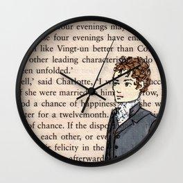 Mr Darcy Wall Clock