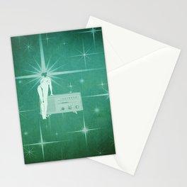 Quiverish Radio 1 - Uncensored - Erotic Collage Art Stationery Cards