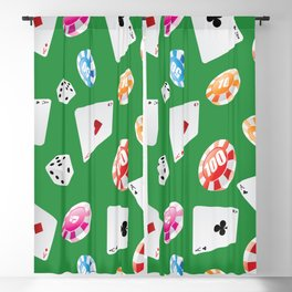 #casino #games #accessories #pattern 4 Blackout Curtain