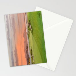 Pebble Beach Golf Course Hole 17 Stationery Cards