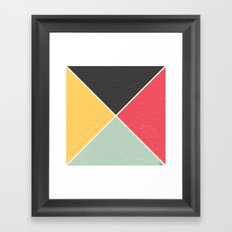 Quarters Framed Art Print