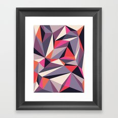 Diamonoid: Autumn Soirée Framed Art Print