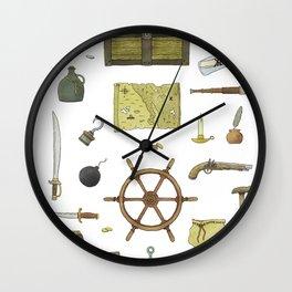 Pirated Wall Clock
