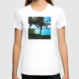 Hawaiian Palm Trees Watching the Cars Go By T-shirt