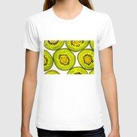 kiwi T-shirts featuring Kiwi Fruit by Bruce Stanfield