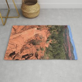 Red Path Rug